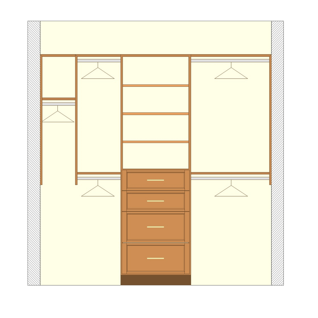 Closetsetc Design Guide Deluxe Reach In Closet Transparent
