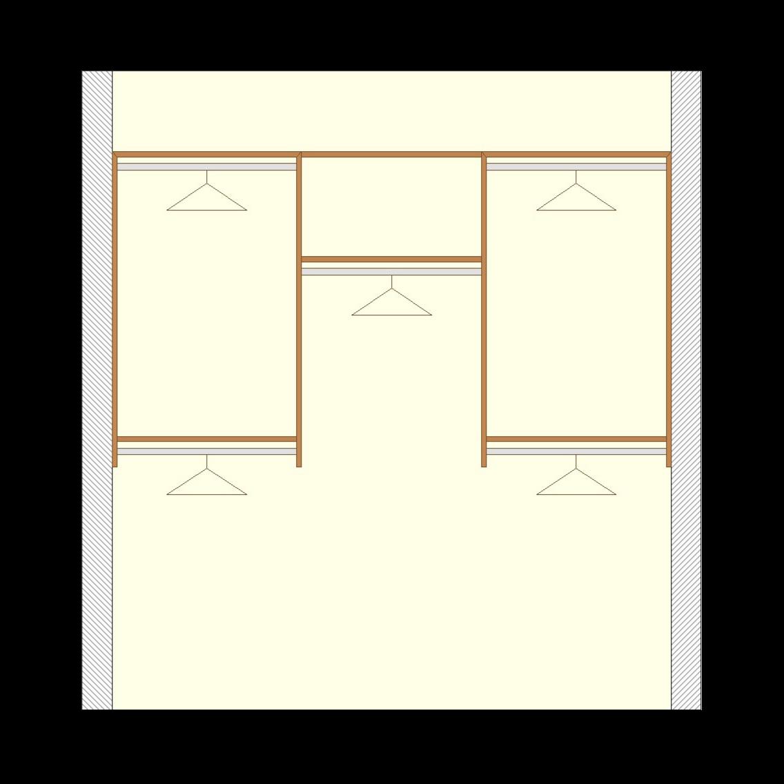 Closetsetc Design Guide Reach In Basic Transparent