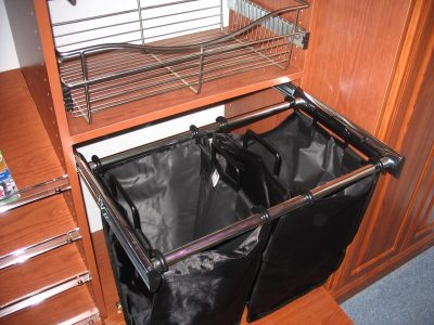 Double Pull-Out Hamper