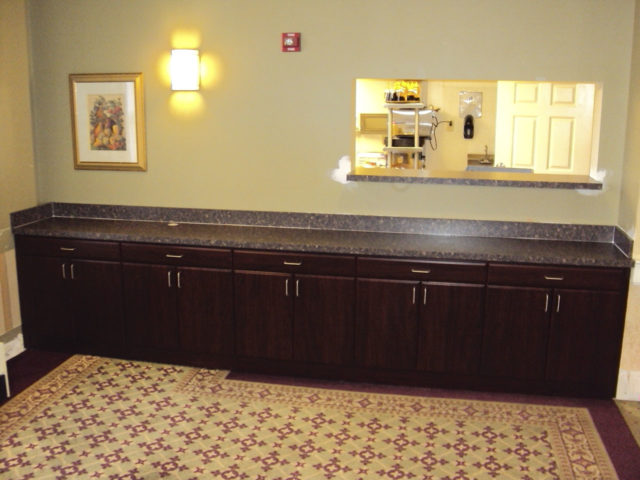 Mahogany Sideboard Assisted Living Facility
