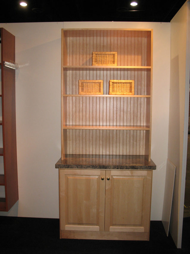 Maple Hutch Cabinet