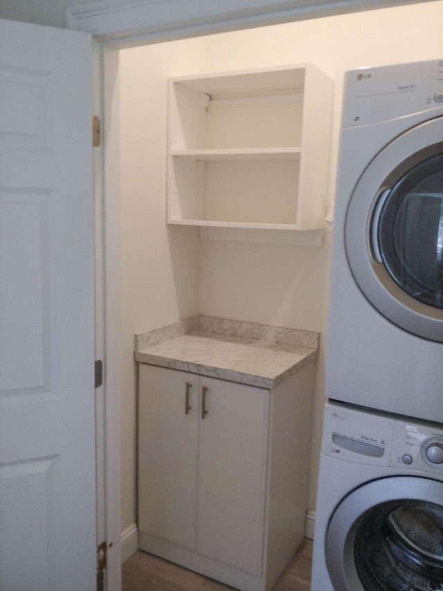 Small Laundry Area Smart Solution