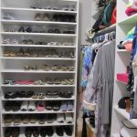 White Shoe Shelving