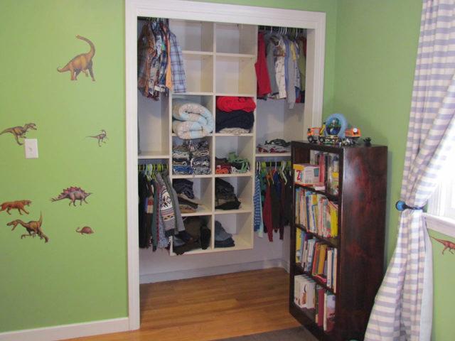 White Child's Closet