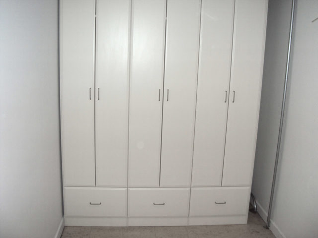 White Mudroom Lockers
