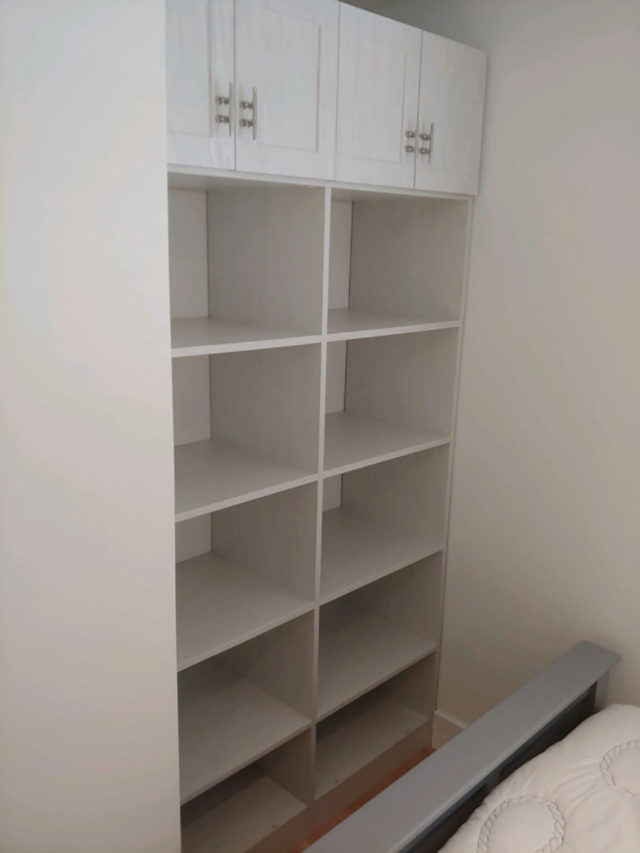 Winter Fun Bookcase Cabinet